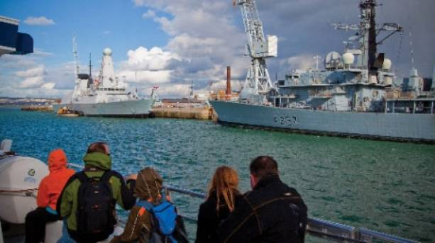 Harbour Tour of Portsmouth Harbour