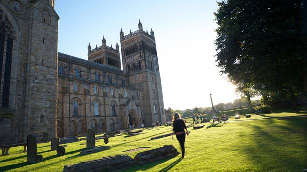Durham Cathedral - the filming location for Harry Potter
