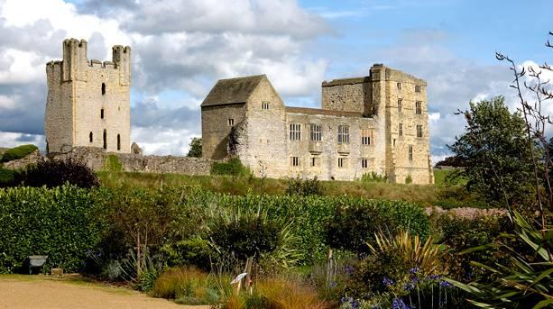 Helmsley's medieval castle