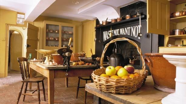 The kitchen at Preston Manor