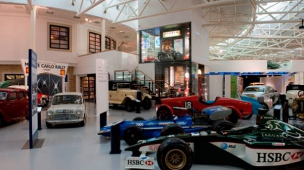 Heritage Motor Centre Museum - internal shot of Museum floor