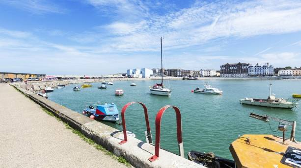 View of Margate harbour