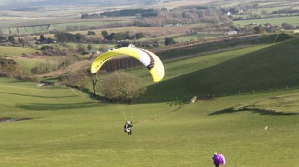 Paragliding with High Adventure, Isle of Wight