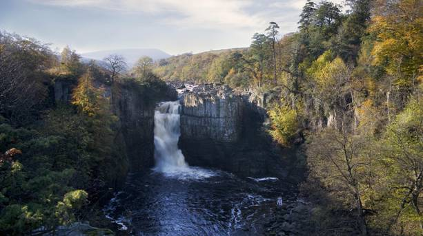 High Force waterfall, Durham Dales