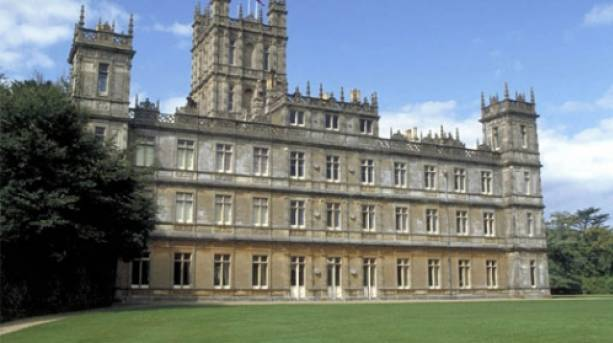 Highclere Castle, location of TV's Downton Abbey