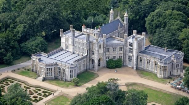 Highcliffe Castle in Dorset