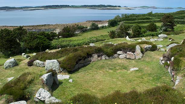 Halangy Ancient Village, St Mary's, Isles of Scilly