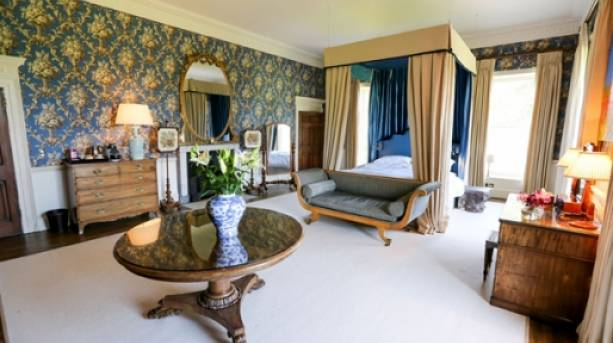 The End Bedroom at Hesleyside Hall