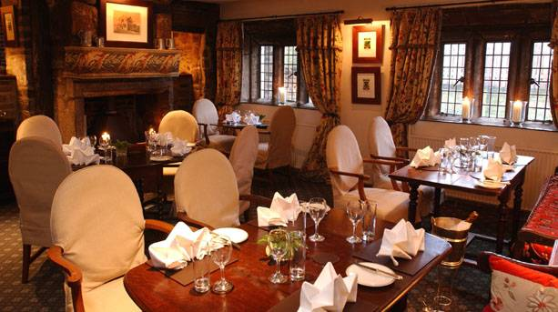 Holdsworth House restaurant