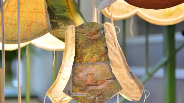 Holmfirth Art Week lampshades