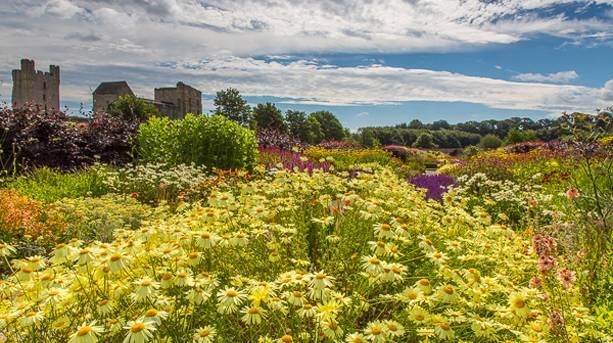 Hot Border, Helmsley Walled Garden