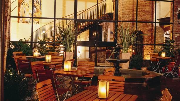 Hotel du Vin courtyard