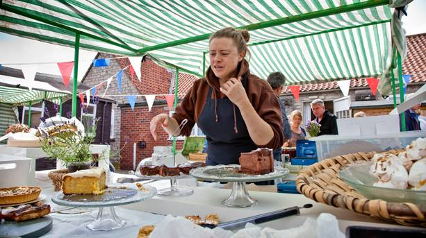 The award-winning monthly Hovingham Village Market