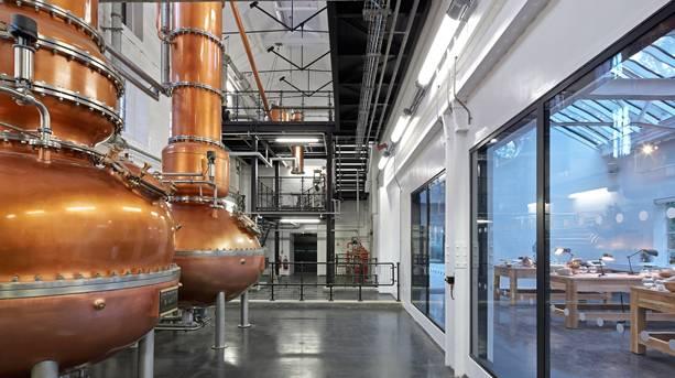 Inside Bombay Sapphire Distillery