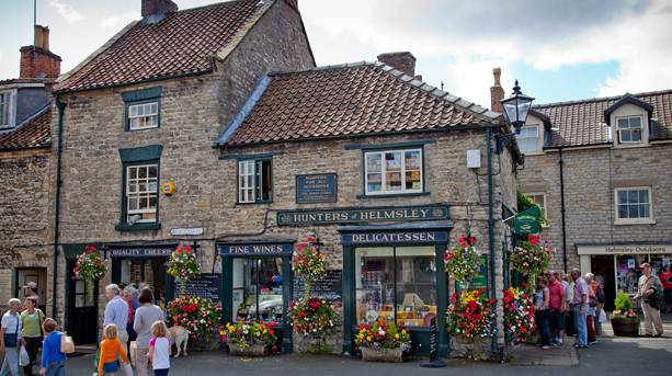 Hunters of Helmsley, the Aladdin's Cave deli voted Britain's Best Small Shop 2015