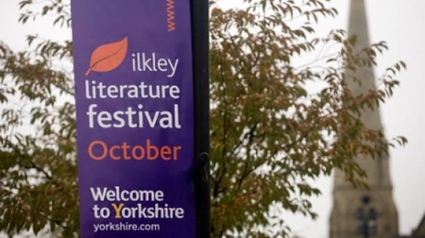 Ilkley Literature Festival banner