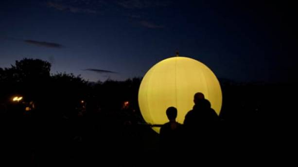 Poetry Sphere at the Ilkley Literature Festival