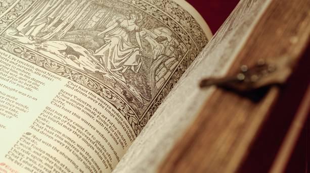 Illuminated book collection at Blackburn Museum