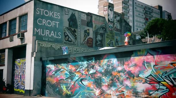 Street Artwork in Bristol