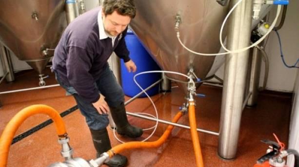 Brewing at Navigation Brewery