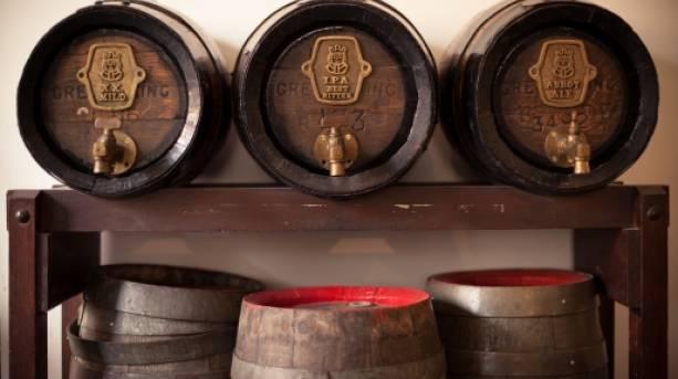 Greene King Brewery, Bury St Edmunds, Suffolk