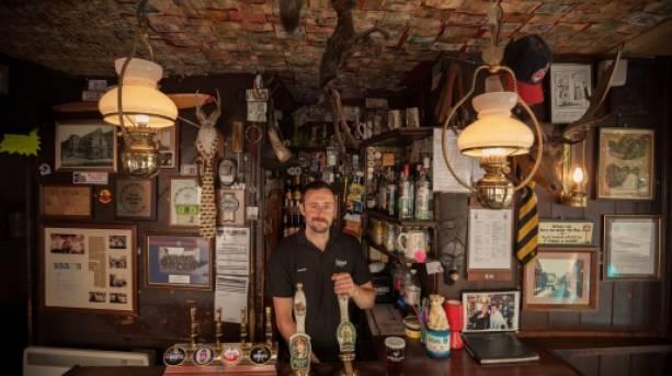 Britain's smallest pub - The Nutshell in Bury St Edmunds, Suffolk