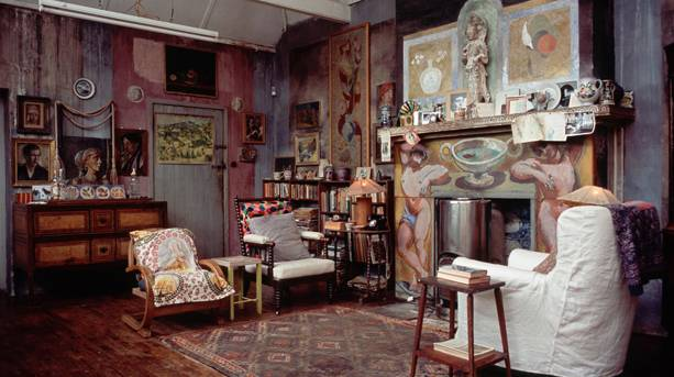 One of the rooms at Charleston