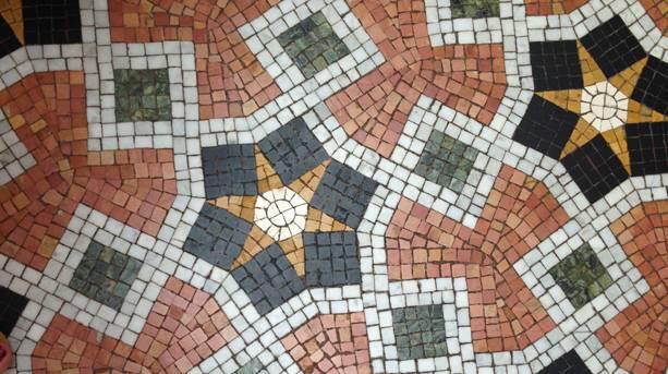 Mosaic flooring in Turkish Baths