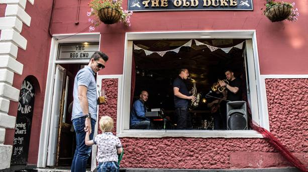 The Old Duke has live jazz seven nights a week