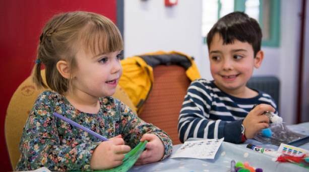 Craft activity at The Story Museum