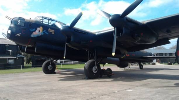 Just Jane at Lincolnshire Aviation Heritage Centre