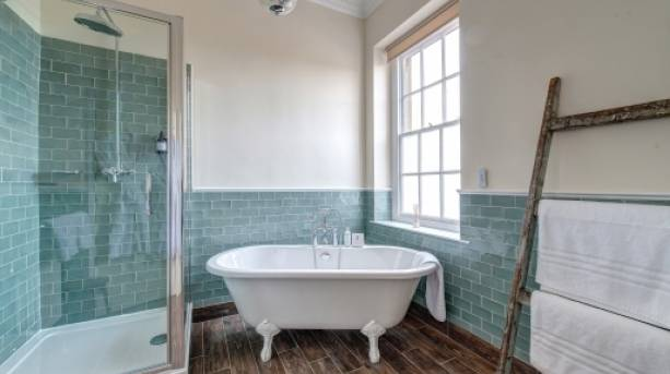 Kedleston Country House bathroom