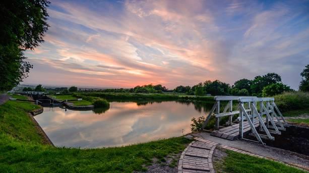 Caen Hill Locks, nr Devizes