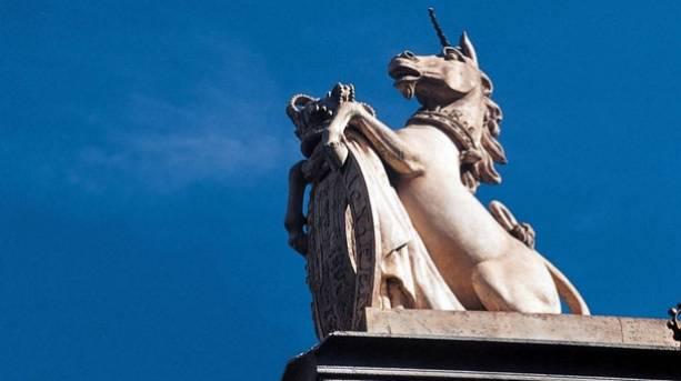 Unicorn Statue At Kensington Palace