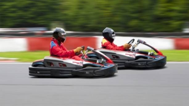 Racing karts in Kent