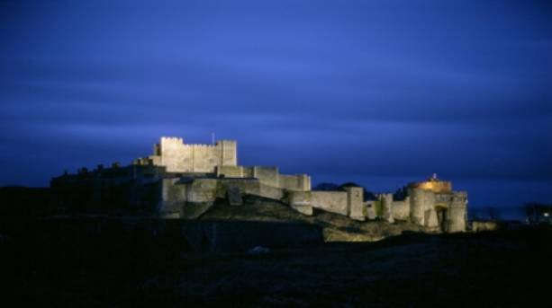 Dover Castle by night