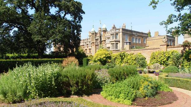View of Knebworth House