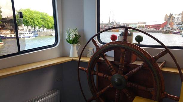 At the wheel of Bristol's newest hostels