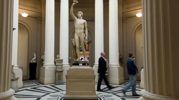Antinous Statue, Lady Lever Art Gallery