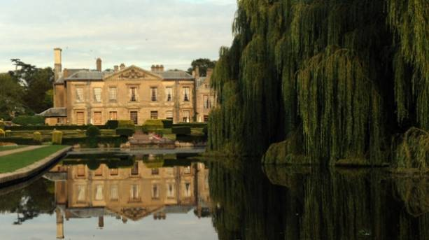 Lake & West Terrace at Coombe Abbey