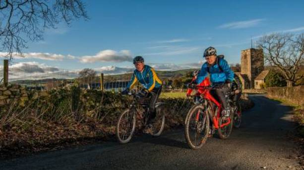 Cycling on the Lakes and Dales Loop