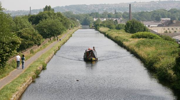 Leeds- Liverpool Canal, Burnley Straight Mile, Lancashire