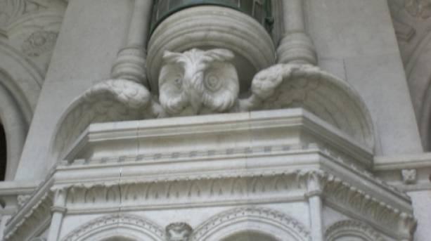 Owl Trail at Lotherton Hall Estate and Bird Garden, Leeds