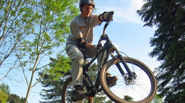 Discover 5 miles of mountain bike trails in Lee Valley