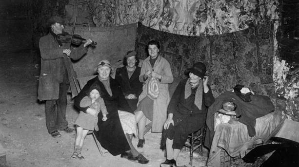 Life during WWII in Ramsgate Tunnels