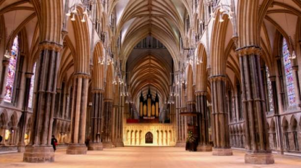 Lincoln Cathedral's nave
