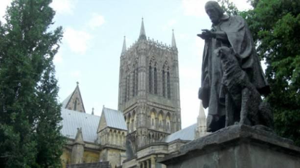 Tennyson's statue