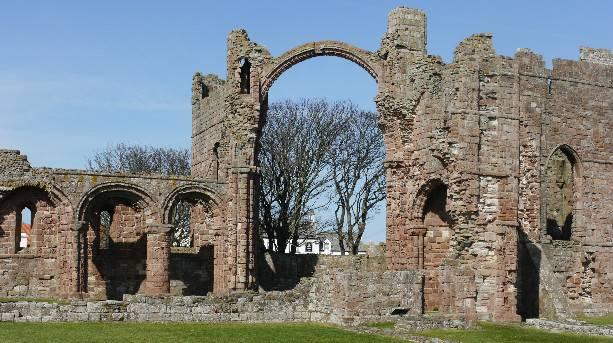 Ruins of Lindisfarne Priory