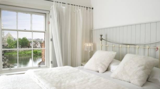 Bedroom at Lion & Pheasant Hotel
