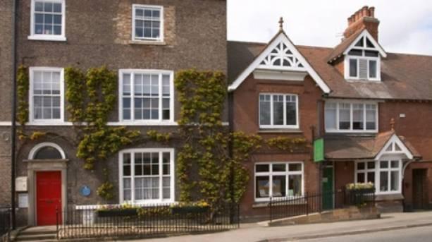 Exterior shot of James Herriot's home